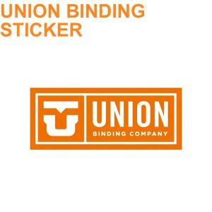 UNION{ユニオン}ビンディング ステッカー LOGO ロゴ[Lサイズ] スノーボードステッカー |follows