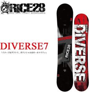 代引料無料 17-18 RICE28 DIVERSE7 ライス28 スノーボード 板 グラトリ|follows