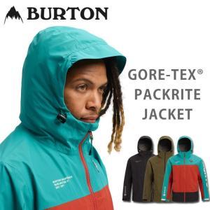 19-20 BURTON バートン スノーボード ウェア PACKRITE JACKET パックライト ジャケット メンズ GORE-TEX ゴアテックス|follows