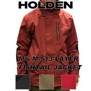 19-20 HOLDEN ホールデン ウェア 3-LAYER FISHTAIL JACKET スリーレイヤー フィッシュテール ジャケット メンズ スノーボード|follows