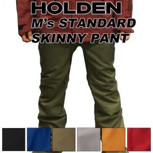 19-20 HOLDEN ホールデン ウェア STANDARD SKINNY PANT スタンダード スキニ―パンツ メンズ スノーボード|follows