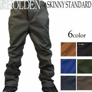18-19 HOLDEN ウェア STANDARD SKINNY PANT スノーボードウェア スキニーパンツ メンズ ホールデン|follows