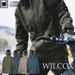 代引き手数料無料 18-19 エルワン スノーボードウェア WILCOX メンズ ジャケット L1 ウィルコック