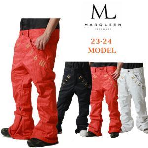 代引料無料 17-18 MARQLEEN スノーボードウェア PLATINUM PANTS [ML7501] ユニセックス マークリーン プラチナムパンツ|follows