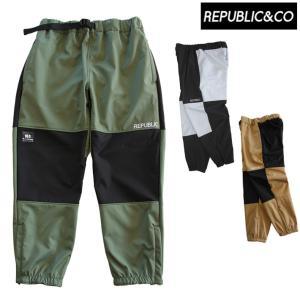 21-22 REPUBLIC&CO リパブリック パンツ ATHLETIC SOFTSHELL PANTS アスレチックソフトシェルパンツ メンズ スノーウェア アウトドア 釣り スケートボード|follows
