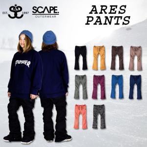 代引料無料 17-18 SCAPE エスケープ ARES PANTS アレス パンツ レディース スノーボードウェア wear スノーウェア|follows