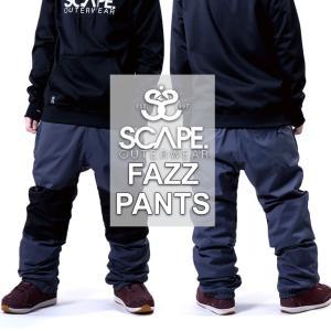 18-19 SCAPE エスケープ FAZZ PANTS ファズ パンツ メンズ スノーボード ボトム スノーウェア follows