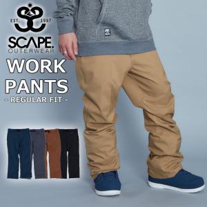 19-20 SCAPE エスケープ WORK PANTS ワークパンツ メンズ スノーボード ボトム スノーウェア follows