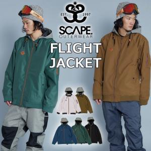 19-20 SCAPE エスケープ FLIGHT JACKET フライト ジャケット メンズ スノーボード  スノーウェア follows