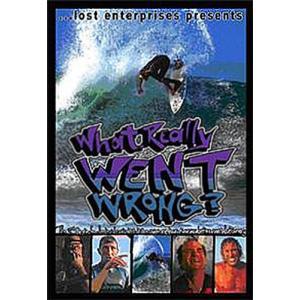 サーフィン SURF DVD SHORT BOARD WHAT REALLY WENT WRONG? ワットリアリーウェントロング ショートボード