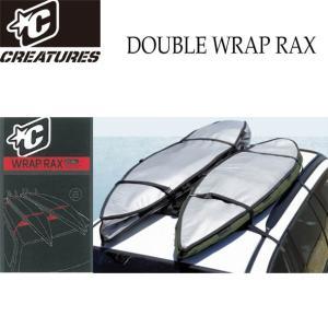 サーフボードキャリア DOUBLE WRAP RAX ダブル ラック CREATURES クリエイチ...