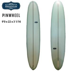 [現品限り特別価格] ALMOND SURFBOARDS アーモンド サーフボード PIN WHEEL 9'0 ピンウィール ロングボード シングルフィン [条件付き送料無料]