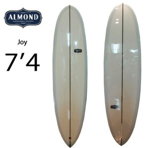 [現品限り特別価格] ALMOND SURFBOARDS アーモンド サーフボード JOY ジョイ 7'4 [5587] ファンボード ミッドレングス シングルフィン [条件付き送料無料]