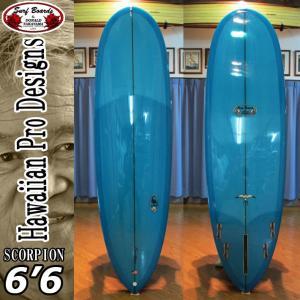 HPD ハワイアンプロデザイン Donald Takayama ドナルドタカヤマ サーフボード SCORPION スコーピオン 6'6 [Turquoise]|follows