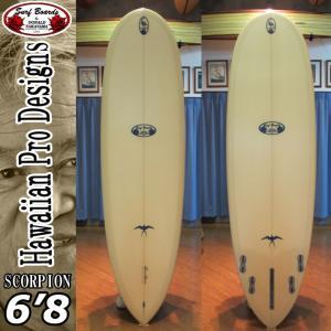 HPD ハワイアンプロデザイン Donald Takayama ドナルドタカヤマ サーフボード SCORPION スコーピオン 6'8 [FLESH SANDED]|follows