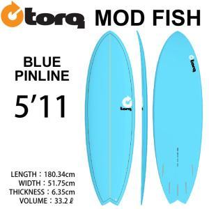 [即出荷可能] TORQ SurfBoard  トルク サーフボード Pinline Color 5'11 フィッシュボード エポキシボード|follows