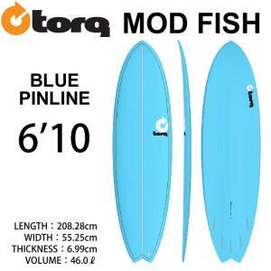 [即出荷可能] TORQ SurfBoard  トルク サーフボード Pinline Color 6'10 フィッシュボード エポキシボード|follows