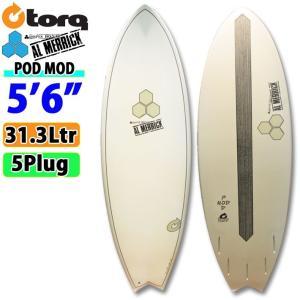 TORQ SurfBoard トルク サーフボード POD MOD 5'6 日本限定カラー[GRAY  TRANSPARENT LTD] AL MERRICK アルメリックサーフボード [条件付き送料無料]|follows