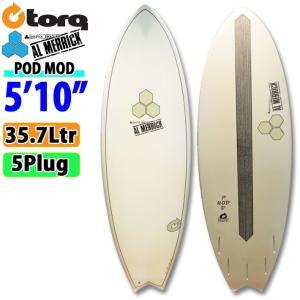 TORQ SurfBoard トルク サーフボード POD MOD 5'10 日本限定カラー[GRAY  TRANSPARENT LTD] AL MERRICK アルメリックサーフボード [条件付き送料無料]|follows