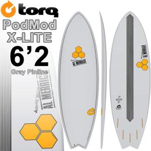 TORQ SurfBoard トルク サーフボード POD MOD 6'2 [GRAY PINLINE] AL MERRICK アルメリックサーフボード  [条件付き送料無料]|follows