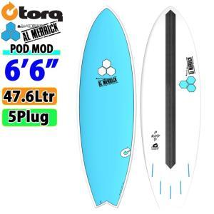 TORQ SurfBoard トルク サーフボード POD MOD 6'6 [BLUE PINLINE] AL MERRICK アルメリックサーフボード [条件付き送料無料]|follows