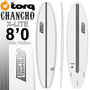 TORQ SurfBoard トルク サーフボード CHANCHO 8'0 [WHITE PINLINE] AL MERRICK アルメリック サーフボード ファンボード [条件付き送料無料]|follows
