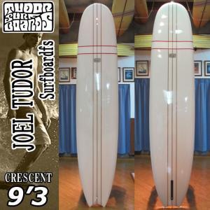 [送料無料] JOELTUDOR SurfBoard [ジョエルチューダー サーフボード] THE CRESENT MOON TAIL 9'3 [CLEAR] クレセント ムーンテール ロングボード|follows