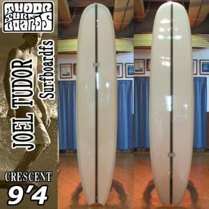 [送料無料] JOELTUDOR SurfBoard [ジョエルチューダー サーフボード] THE CRESENT MOON TAIL 9'4 [CHAMPAGNE] クレセント ムーンテール ロングボード|follows