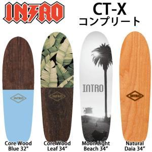 INTRO イントロ スケートボード CT-X サーフスケート カーヴィングトラック コンプリート|follows