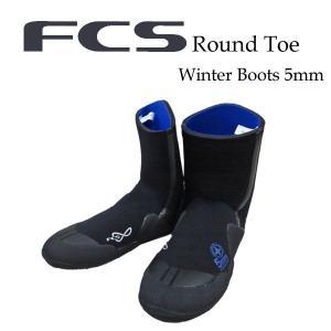 [現品限り特別価格] FCS エフシーエス サーフブーツ ウィンターブーツ 冬用 ROUND TOE 5mm ラウンドトゥ follows