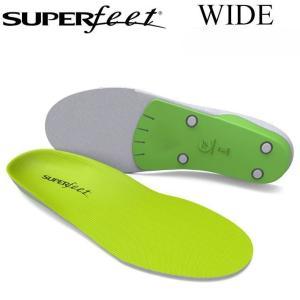[正規販売店] SUPER FEET スーパーフィート WIDE GREEN ワイドグリーン インソ...