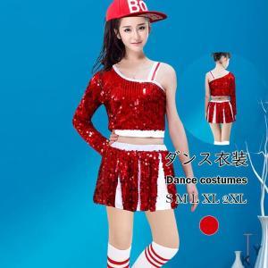 ダンス衣装 原宿系 ファッション レディース 派手 個性的 ダンス 衣装 コスチューム ヒップホップ 韓国 大きいサイズ|fontier-tokyo