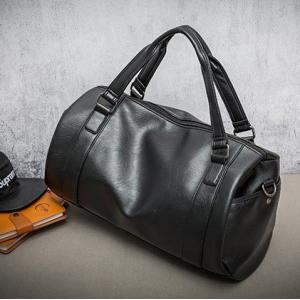 手提げバッグ メンズ ボストンバッグ バッグ ショルダー カバン 旅行用バッグ 大容量 PU革 フェイクレザー 人気バッグ 大きい 黒 2019新作 父の日|fontier-tokyo