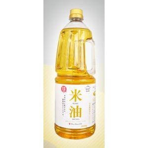 みづほ こめ油 米油 家庭用 1650g 5本 ペットボトル 国産米ぬか使用 三和油脂 山形|food-sinkaitekiya