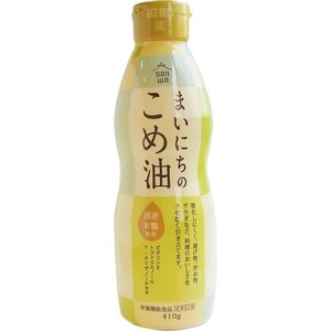 まいにちのこめ油 410g 10本 米油 こめ油 コメ油 こめあぶら 三和油脂 山形|food-sinkaitekiya