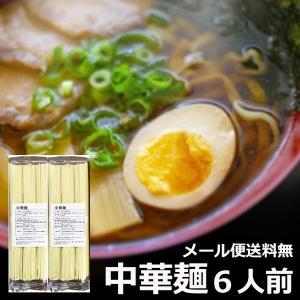 開店セール 中華麺 100g×6束 大盛り 6人前 山形のラ...