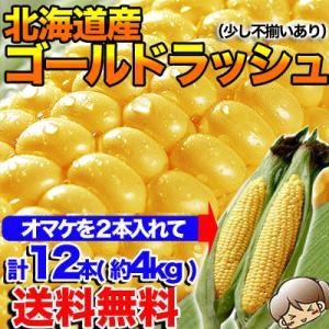 【早割】北海道産 ゴールドラッシュ M〜2L混合 10本+2...