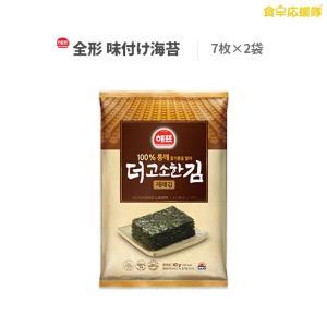 ヘピョ 韓国のり  韓国海苔 全形 7枚 × 2袋 お試し セット|foodsup