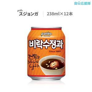 韓国 ジュース シナモン スジョンガ 238ml 12缶 ビラク foodsup