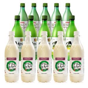 マッコリ/ 生マッコリ/韓国マッコリ/ 麹醇堂 750ml 12本セット センマッコリ クール便発送|foodsup