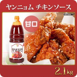 本場 韓国 ヤンニョムチキンソース 甘口 2キロ 韓国調味料 韓国食品|foodsup