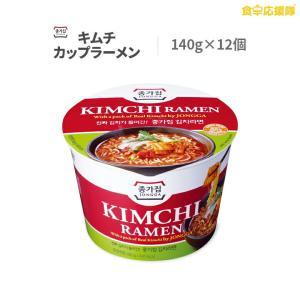 宗家 キムチラーメン 大盛カップラーメン 140g×12個 1ケース KIMCHI RAMEN|foodsup