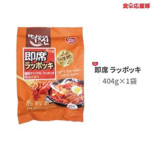 屋台風 即席 ラッポッキ 404g × 1袋 韓国 オリジナル ラッポッキ ドンウォン トッポキ おやつ 辛い 韓国料理|foodsup
