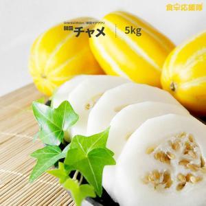 韓国チャメ 5kg 18~24個  韓国マクワウリ Oriental Melon Korean Melon|foodsup