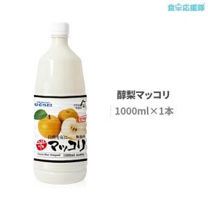 マッコリ 醇 梨マッコリ 1000ml×1本 醇 韓国 酒|foodsup