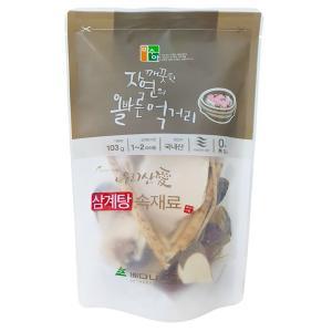 サムゲタン 参鶏湯 材料 100g 身土不ニ|foodsup