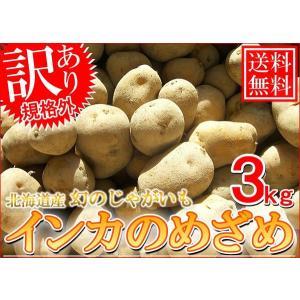 送料無料/訳あり/北海道産インカのめざめ 3kg SSサイズ 10月中旬発送 foodwave