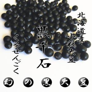 【送料無料】幻の北海道産 黒千石大豆 1kg 北海道北竜町 foodwave