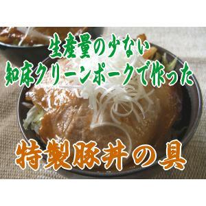 北海道帯広名物  豚丼の具 知床クリーンポーク極上ロース|foodwave
