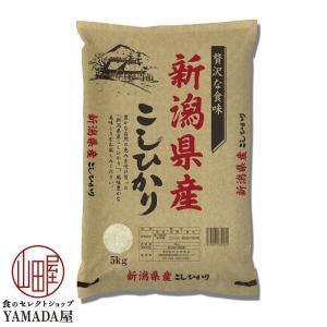 新潟県産 コシヒカリ 5kg 送料無料 白米 こしひかり お土産 贈り物 プレゼント お米 米 ギフト foodyamadaya